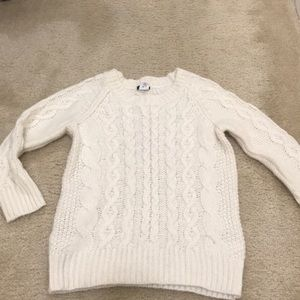 ✨5 for 25✨jcrew cream cable knit sweater